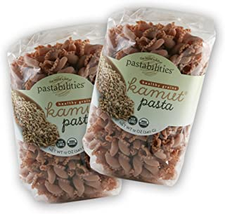 Pastabilities Organic Kamut Khorasan Wheat Gigli Artisanal Pasta Made with Ancient Grains NON-GMO, 12 oz (Pack of 2)