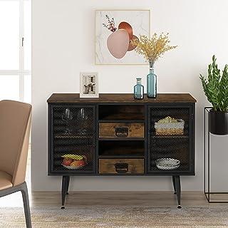 YWH IndustrialBuffet Sideboard - Home Kitchen Storage...