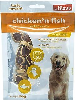 LES FILOUS Chicken And Fish 100G, orange, 100 gm