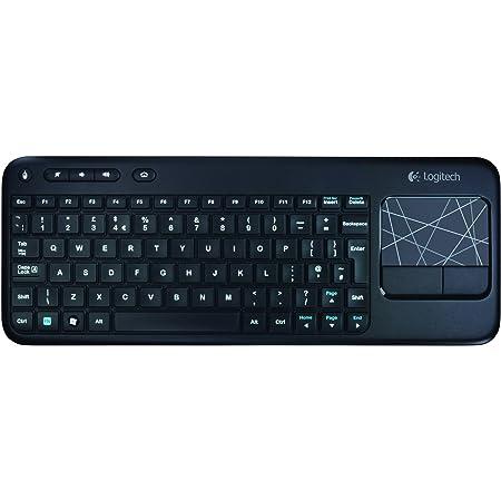 Logitech K400 - Teclado inalámbrico con Touchpad (QWERTY ...