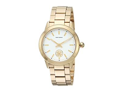 Tory Burch Collins Bracelet Watch (Gold TBW1300) Watches