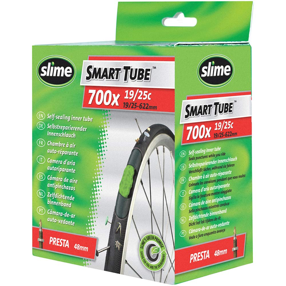 Slime 622-23 Cámara Autosellante, Unisex, Negro, 700 x 19/25: Amazon.es: Deportes y aire libre