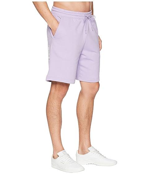 púrpura rosa Shorts Tower PUMA Logo xSq8WY