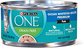 Purina ONE Natural Adult Canned Wet Cat Food – (24) 3 oz. Cans