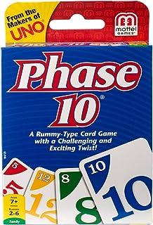 Mattel Phase 10 W4729 Card Game