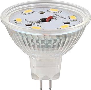 CMC, Pack of 6, LED MR16 Spotlight 3W 380lm 50W Halogen Equivalent 120° Beam Angle 12V DC for Accent, Track Light, GU5.3 B...