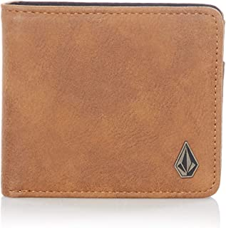 mens leather volcom wallet