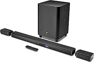 ساوند بار الترا اتش دي 4K مع مكبرات صوت محيطية لاسلكية من جيه بي ال BAR 5.1 - اسود