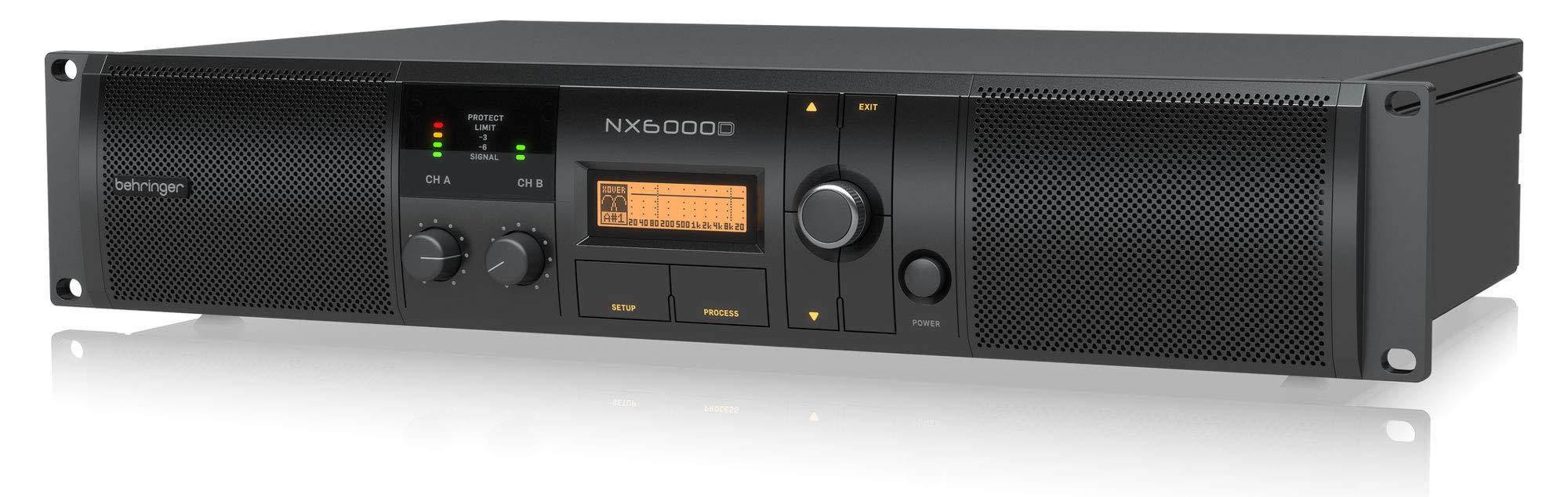 Behringer NX6000D Power Amplifier