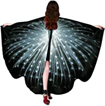 HitHopKing Carnival Women's Beautiful Eye-Catcher Butterfly Wings Scarf Costume Accessories