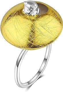 Lotus Fun S925 Sterling Silber Ring Freches Kätzchen Ring Natürlicher Kreativ Beliebt Handgemachter Einzigartiger Schmuck für Frauen und Mädchen