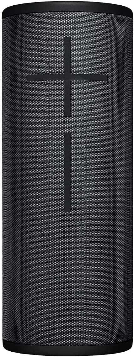 Ultimate Ears Megaboom 3 Altavoz Portátil Inalámbrico Bluetooth, Graves Profundos, Impermeable, Flotante, Conexión Múltiple, Batería de 20 h, Nuevo Embalaje - Negro