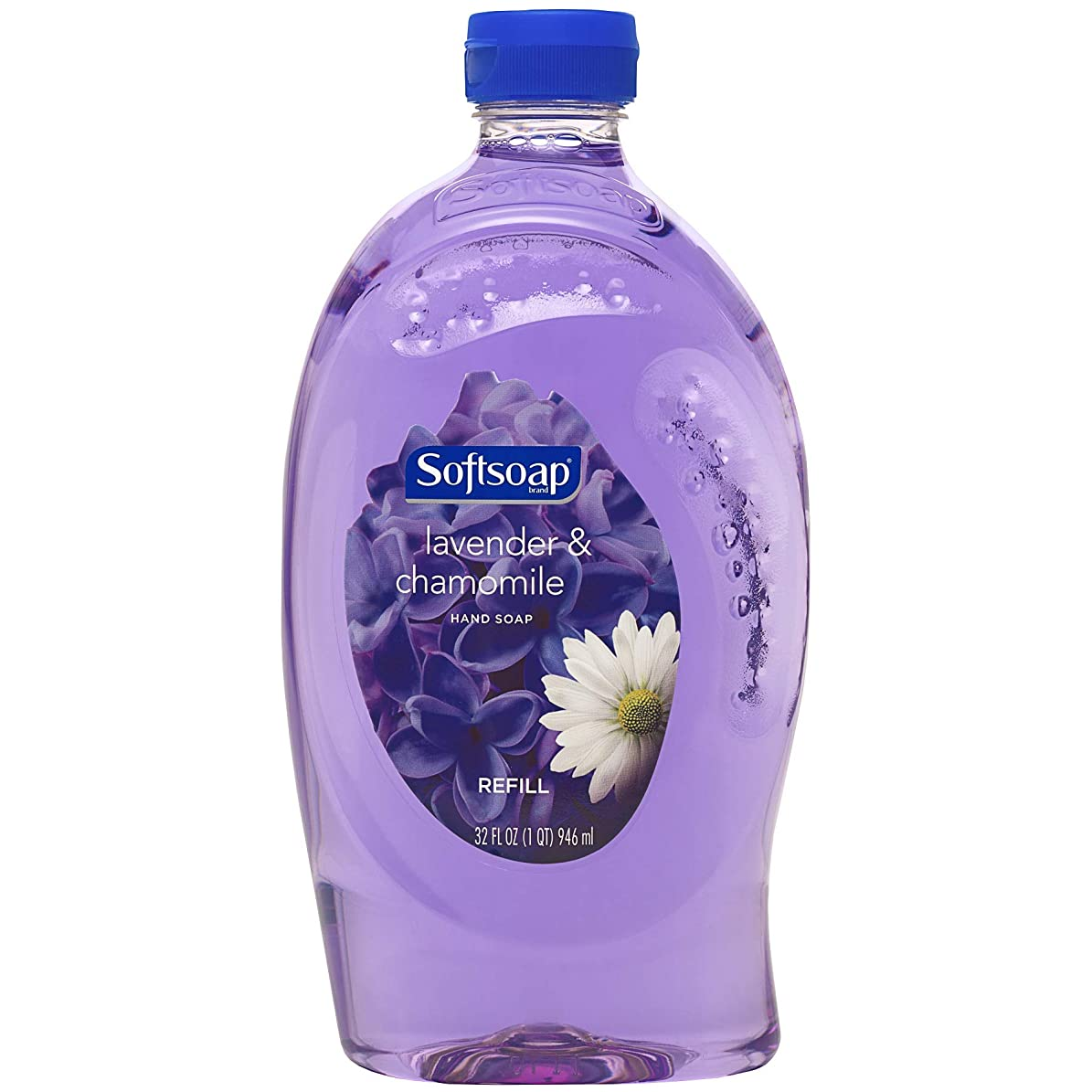 輪郭叫ぶ中央値Softsoap Lavender and Chamomile - Liquid Hand Soap Refill, 32 Ounce by Softsoap