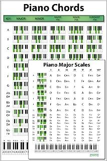 """Piano Chord Poster (12""""x18"""") and Major/Minor"""