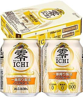 キリン 零ICHI ノンアルコール・ビールテイスト飲料 [ ノンアルコール 250ml×24本 ]