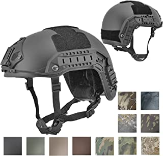 Lancer Tactical CA-805B Maritime ABS Helmet Color: Black, Size: Medium to Large