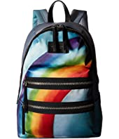 Marc Jacobs - Rainbow Printed Biker Backpack