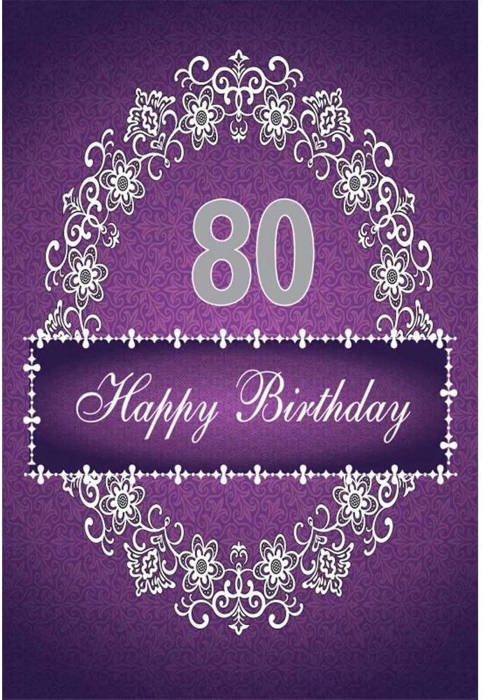 8x8FT Vinyl Photo Backdrops,Pastel,Ornate Flourish Vintage Background Newborn Birthday Party Banner Photo Shoot Booth