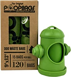 PoopBags Eco-Friendly Dog Waste Bags with Dispenser