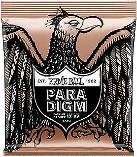 Ernie Ball P02074 Ernie Ball Paradigm Medium Phosphor Bronze Acoustic Guitar Strings 13-56 Gauge, Medium