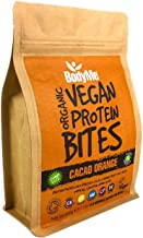 BodyMe Organic Vegan Protein Snacks Bites Raw Cacao Orange 100 Protein Snack Bites 27 Percent Protein Gluten Free 3 Plant Proteins All Essential Amino Acids High Protein Vegan Snacks Estimated Price : £ 16,99