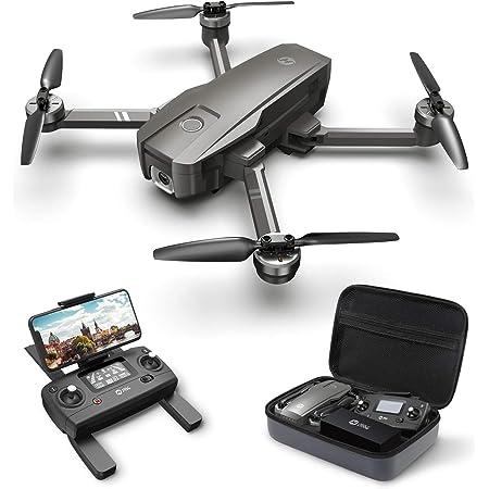 Holy Stone ドローン GPS搭載 折り畳み 4K広角カメラ付き フライト時間26分 収納ケース付き ブラシレスモーター オートリターンモード フォローミーモード オプティカルフロー 高度維持 ヘッドレスモード 2.4GHz モード1/2自由転換 国内認証済み HS720