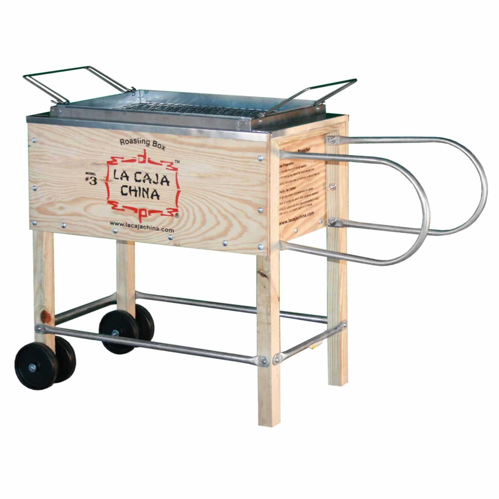 La caja china Cajas Sau # 3 Roasting Caja cerdo Barbacoa: Amazon ...