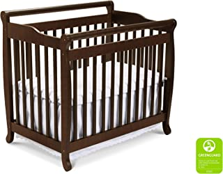 DaVinci Emily 2-in-1 Mini Crib and Twin Bed in Espresso | Greenguard Gold Certified