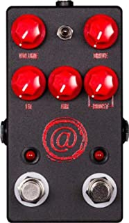 JHS AT (Andy Timmons) Drive V2 Pedal - Exclusive Black with Red Logo