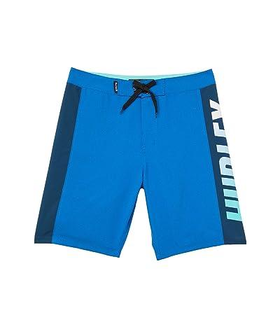 Hurley Kids Color-Block Boardshorts (Big Kids) (Signal Blue) Boy