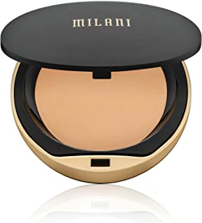 Milani Conceal + Perfect Shine-Proof Powder - Natural (0.42 Ounce) Vegan, Cruelty-Free Oil-Absorbing Face Powder that Mattifies Skin and Tightens Pores