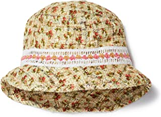 Anna Sui Rosebuds Printed Tweed Bucket Hat