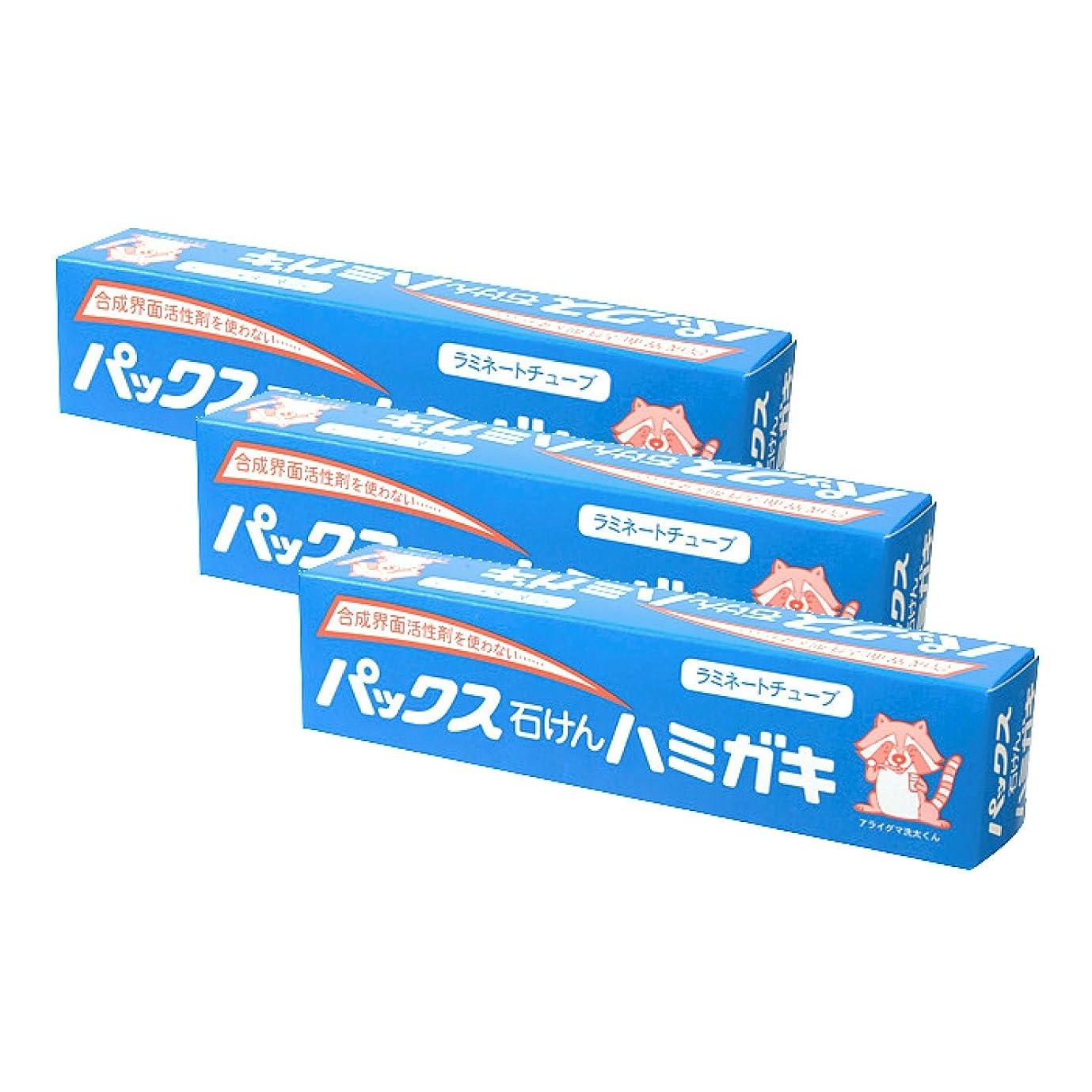 絶望的なボウリング繊維【まとめ買い】パックス石けんハミガキ 140g×3