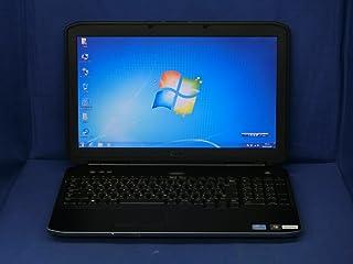 【中古】 デル Latitude E5530 ノートパソコン Core i5 3320M メモリ8GB 320GBHDD DVDスーパーマルチ Windows7 Professional 64bit P28G