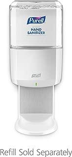 PURELL ES6 Hand Sanitizer Touch-Free Dispenser, White, Dispenser for PURELL ES6 1200 mL Sanitizer Refills - 6420-01