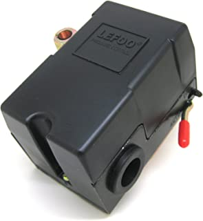 New Pressure switch for air compressor 140-175 Single port w/ unloader & on/off lever