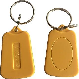 YARONGTECH Nouveau Style Couleur Jaune jetons lisible RFID 125KHz Em4100 étiquettes Carte d'identité Porte-clés Carte Cart...
