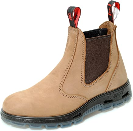 Redback Boots Crazy Horse Brown UBCH Leather Chelsea Boot : boots