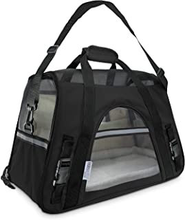Paws & Pals Airline Approved Pet Carrier – Soft-Sided Carriers for Small Medium..