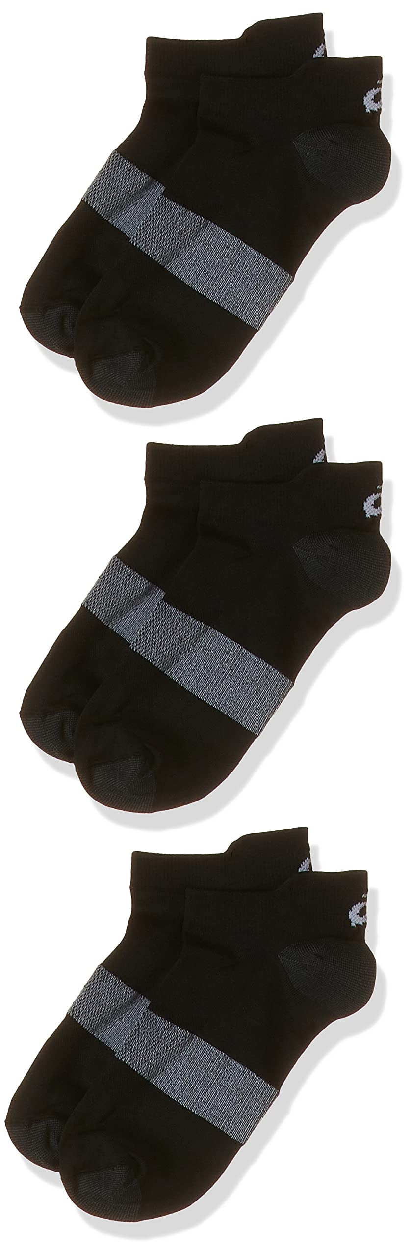 ASICS Herren 3PPK Lyte Socken, Schwarz (Black 123458-0900), 47-49