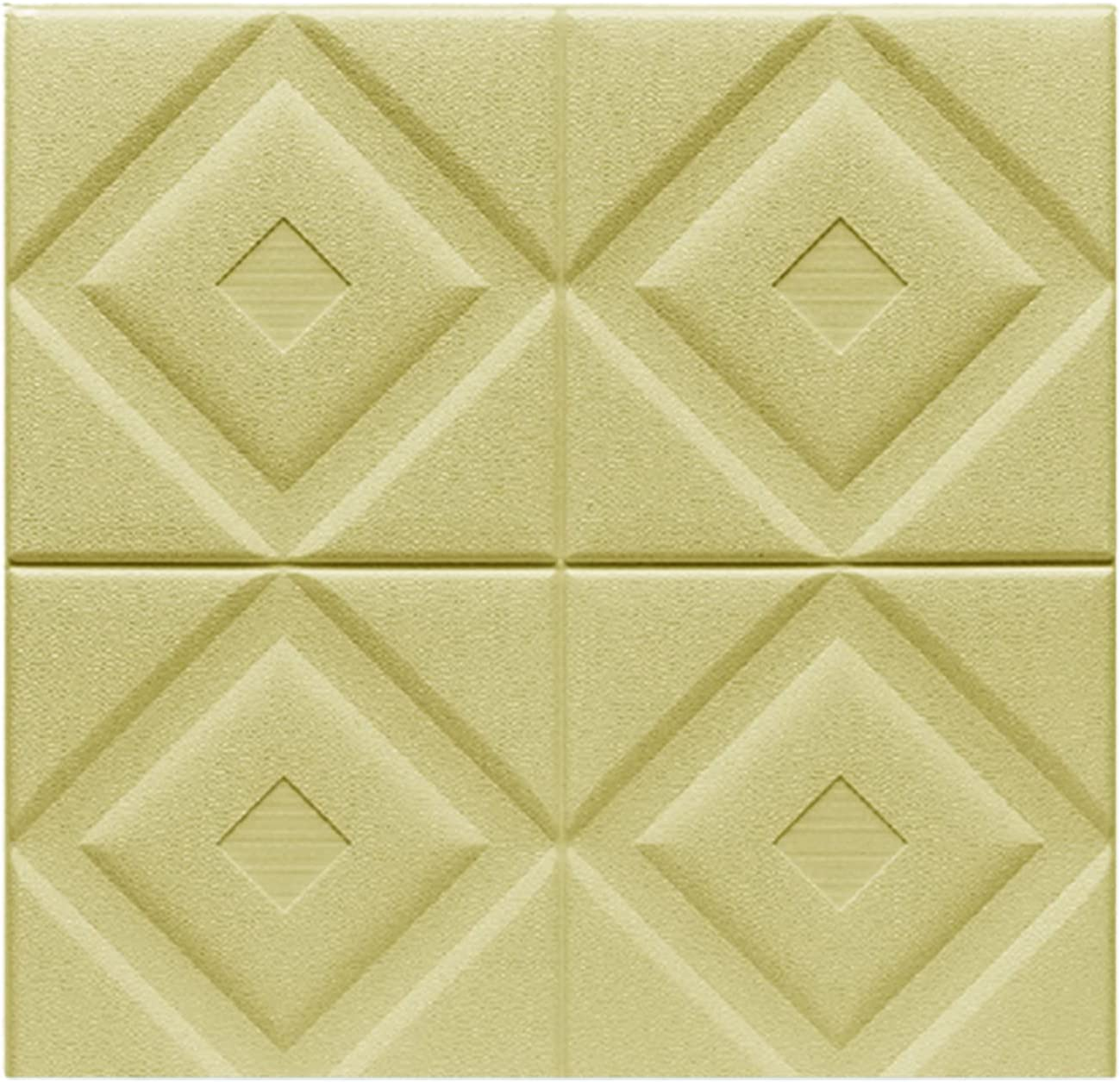 AIMIMI 3D Luxury goods Wall Panels Foam Brick Stick Wallpap Sales results No. 1 Peel and Packs 10