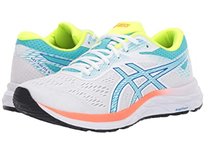 ASICS GEL-Excite(r) 6 (White/Ice Mint) Women