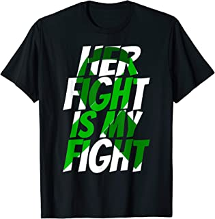 Green Ribbon Brain Injury Awareness Shirt For Her Family Tee