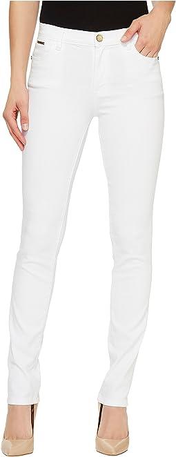 Ivanka Trump Denim Skinny Jeans in White