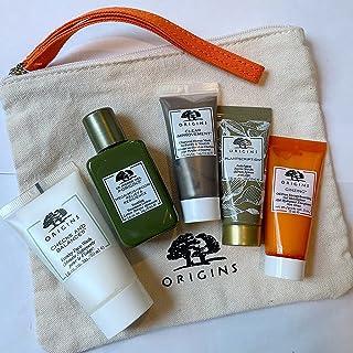 Origins Skincare Gift Set: Cleanser, Toner, Mask, Serum & Ginzing Moisturizer