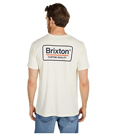 Brixton Palmer Short Sleeve Premium Tee (Dove) Men