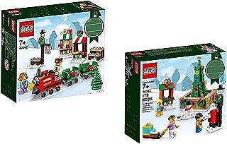 2 Christmas Sets: Lego 40262 Christmas Train Ride & 40263 Christmas Town Square
