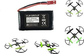 Sky Viper S1700 S1750 V2400HD V2450FPV V2450GPS Scout Journey Drones Compatible Battery 3.7v 650mAh High Capasity