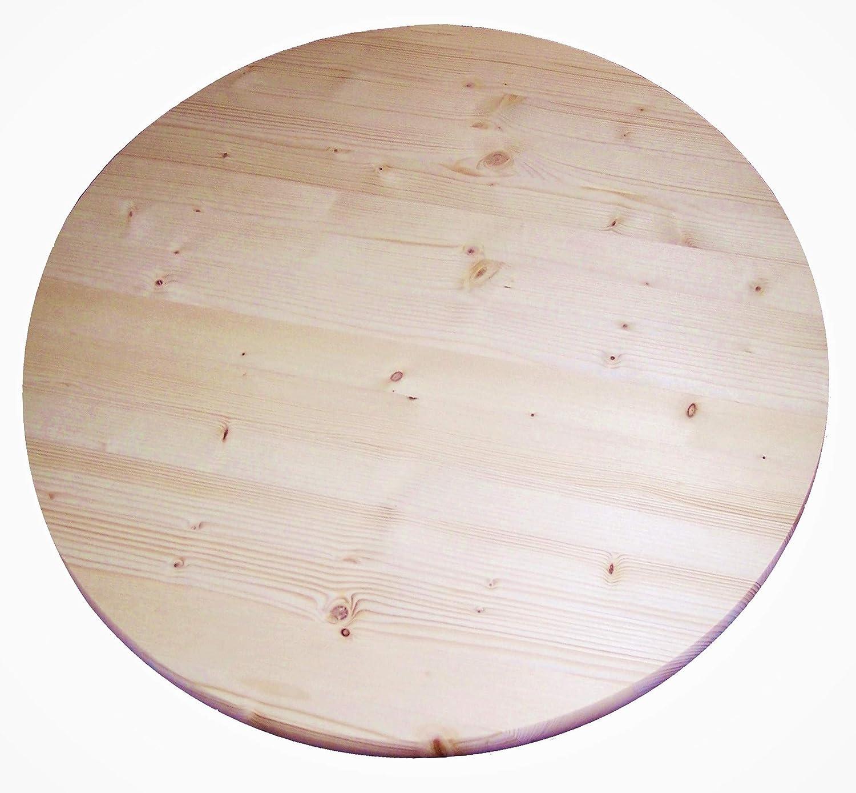 1 06 x 36 round table top pine round panel