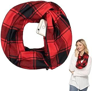 Best plaid wool infinity scarf Reviews